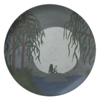 Prato De Festa Impressão da arte da solidão