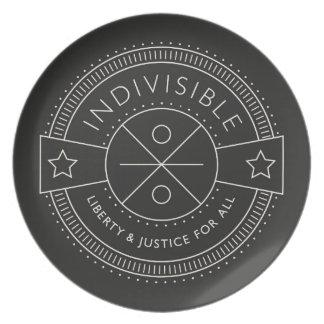 Prato De Festa Indivisível, com liberdade e justiça para todos