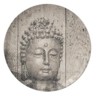 Prato De Festa Ioga de Buddha do vintage