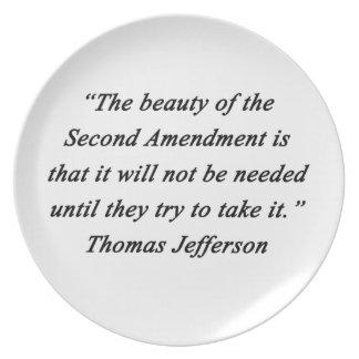 Prato De Festa Jefferson - segunda alteração