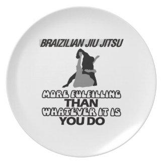 PRATO DE FESTA JIU BRASILEIRO JITSU