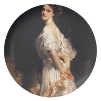 Prato De Festa John Singer Sargent - Nancy Astor - belas artes