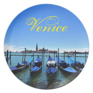 Prato De Festa Lagoa azul em Veneza, Italia