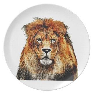 Prato De Festa Leão africano