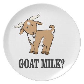 Prato De Festa leite da cabra?