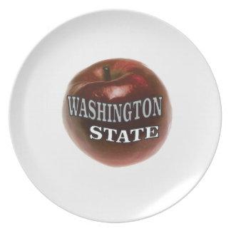 Prato De Festa Maçã do vermelho do estado de Washington