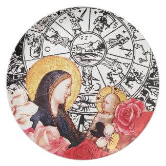 Prato De Festa madonna e criança