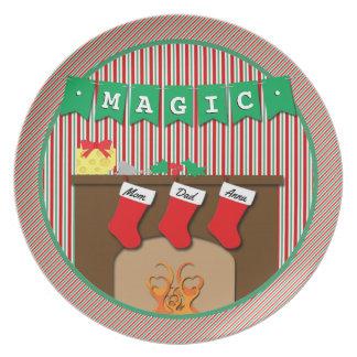 Prato De Festa Mágica • Noite antes do Natal • 3 meias