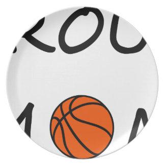 Prato De Festa Mamã do basquetebol