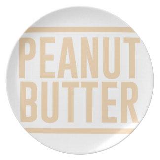Prato De Festa Manteiga de amendoim