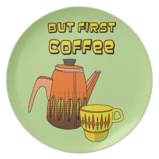 Prato De Festa Mas primeiro café