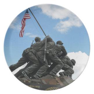 Prato De Festa Memorial de Iwo Jima no Washington DC