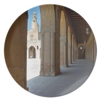 Prato De Festa Mesquita o Cairo de Ibn Tulun