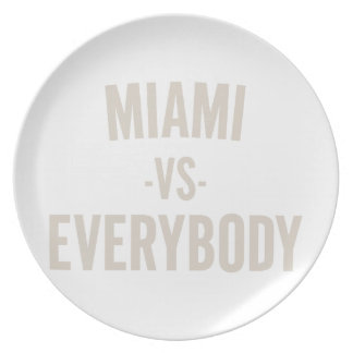 Prato De Festa Miami contra todos