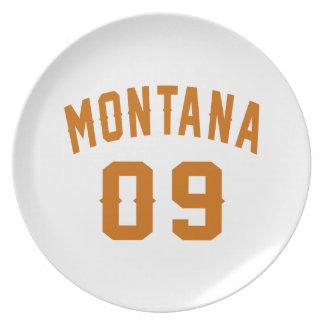 Prato De Festa Montana 09 designs do aniversário