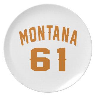 Prato De Festa Montana 61 designs do aniversário