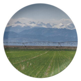 Prato De Festa Montanha rochosa que cultiva a vista