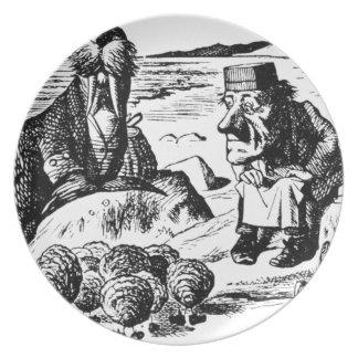 Prato De Festa Morsa, Carpeter e ostras