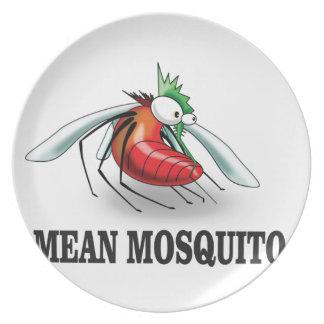 Prato De Festa mosquito médio