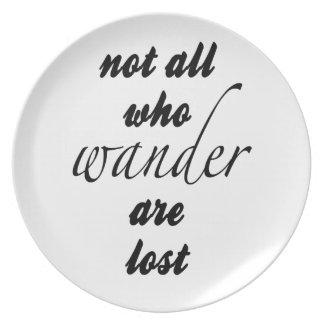 Prato De Festa Não tudo que Wander é perdido