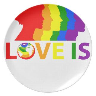 Prato De Festa O amor é amor