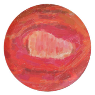 Prato De Festa o contemporâneo abstrato não colore nenhum 53