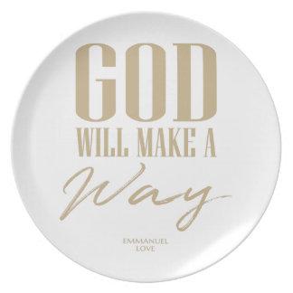 Prato De Festa O deus fará uma maneira