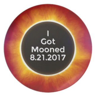 Prato De Festa O eclipse solar americano obtem o 21 de agosto de