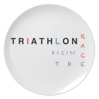 Prato De Festa O Triathlon deixou a raça começar