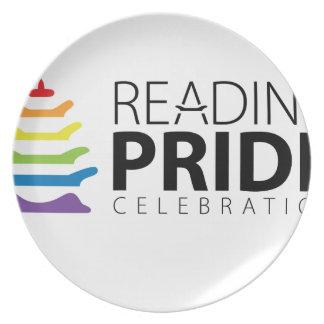 Prato De Festa Orgulho da leitura