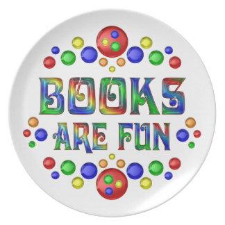 Prato De Festa Os livros são divertimento