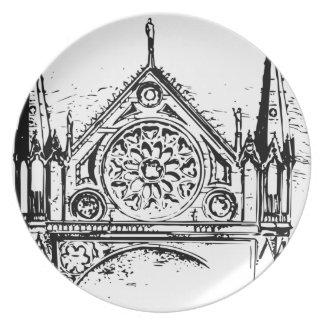 Prato De Festa Pintura gótico da igreja