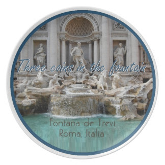 Prato De Festa Placa de ROMA Italia
