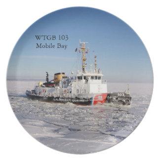 Prato De Festa Placa do gelo de baía de WTGB 103 Moblie