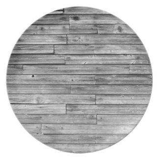 Prato De Festa Placa - madeira resistida do celeiro