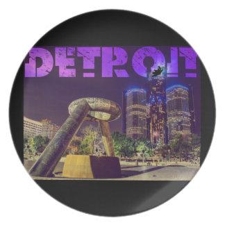 Prato De Festa Plaza do cervo de Detroit