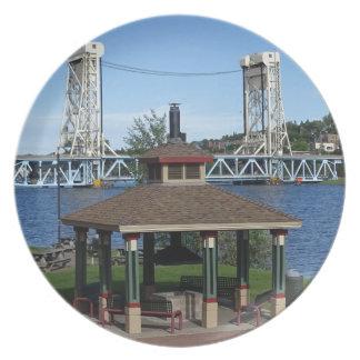 Prato De Festa Ponte de elevador do lago Portage
