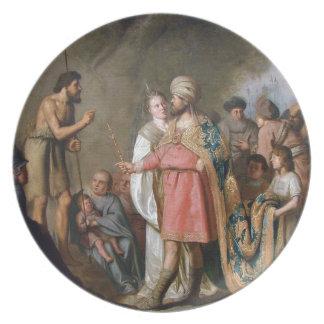 Prato De Festa Preaching de John The Baptist