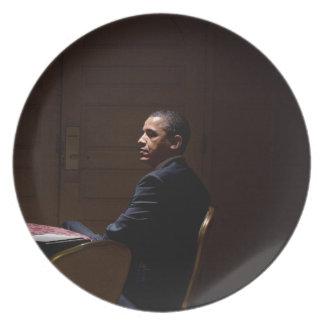 Prato De Festa Presidente Barack Obama 12