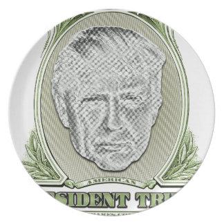 Prato De Festa Presidente Trunfo Dólar