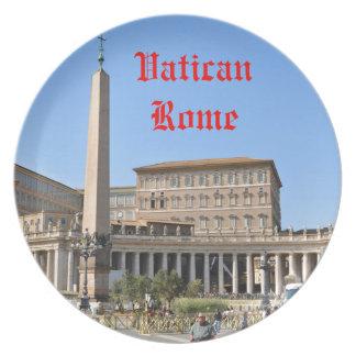Prato De Festa Quadrado em Roma, Italia