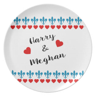 Prato De Festa Quando Harry encontrou Meghan