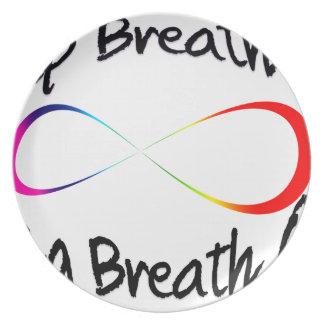 Prato De Festa respiração infinita