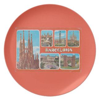 Prato De Festa Retrospecto de Barcelona