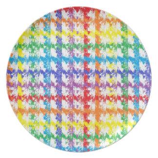 Prato De Festa Risco do arco-íris