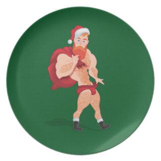 Prato De Festa Santa Claus