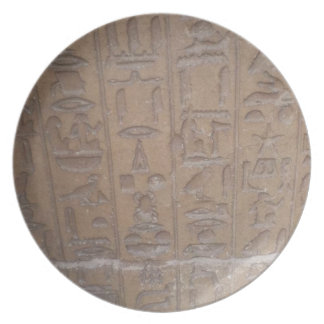 Prato De Festa Série dos Hieroglyphics