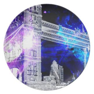 Prato De Festa Sonhos de Amorem Amisi Londres do anúncio
