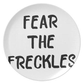 Prato De Festa Tema os Freckles