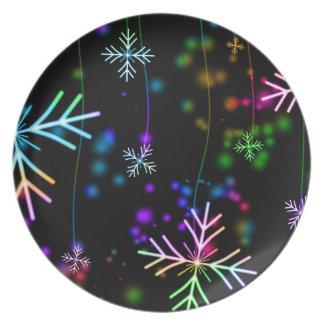 Prato De Festa tempo da alegria do Natal